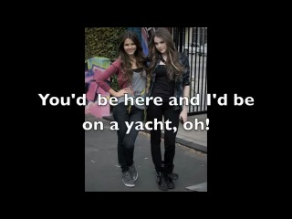 Victoria Justice & Liz Gillies Take a hint