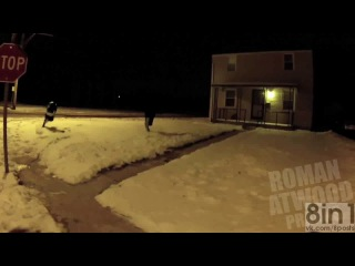 �������� - ����� ����� ����� ������� �� ���� �� ������ �� ����� / Roman Atwood - Drive By Shooting Prank!!
